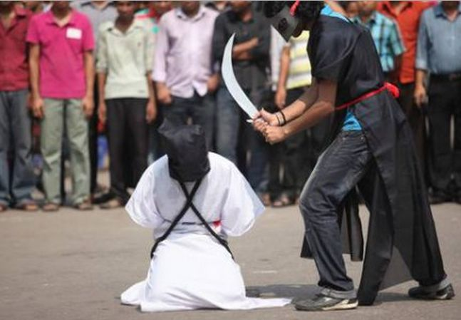 arabia saudita esecuzione