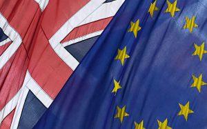 brexit bandiere gran bretagna