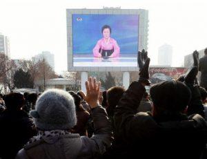 corea del nord annuncio tv
