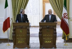 Iran-Italey FM News Conference