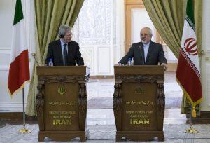 Iran-Italey FM News Conference