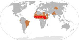 Meningitis-Epedemics-World-Map