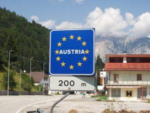 confine austria