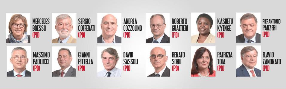 Quelli che amano l 39 italia lottoced forum for Elenco deputati pd