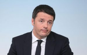 Il premier Matteo Renzi durante la conferenza stampa al termine del Consiglio dei Ministri, Roma, 20 febbraio 2015. ANSA/ ALESSANDRO DI MEO