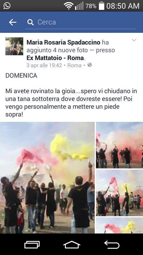 L'incredibile e sprezzante commento sul profilo Facebook della giornalista del Corriere della Sera Maria Rosaria Spadaccino