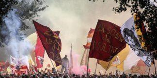 Testaccio multe denunce corteo romanisti