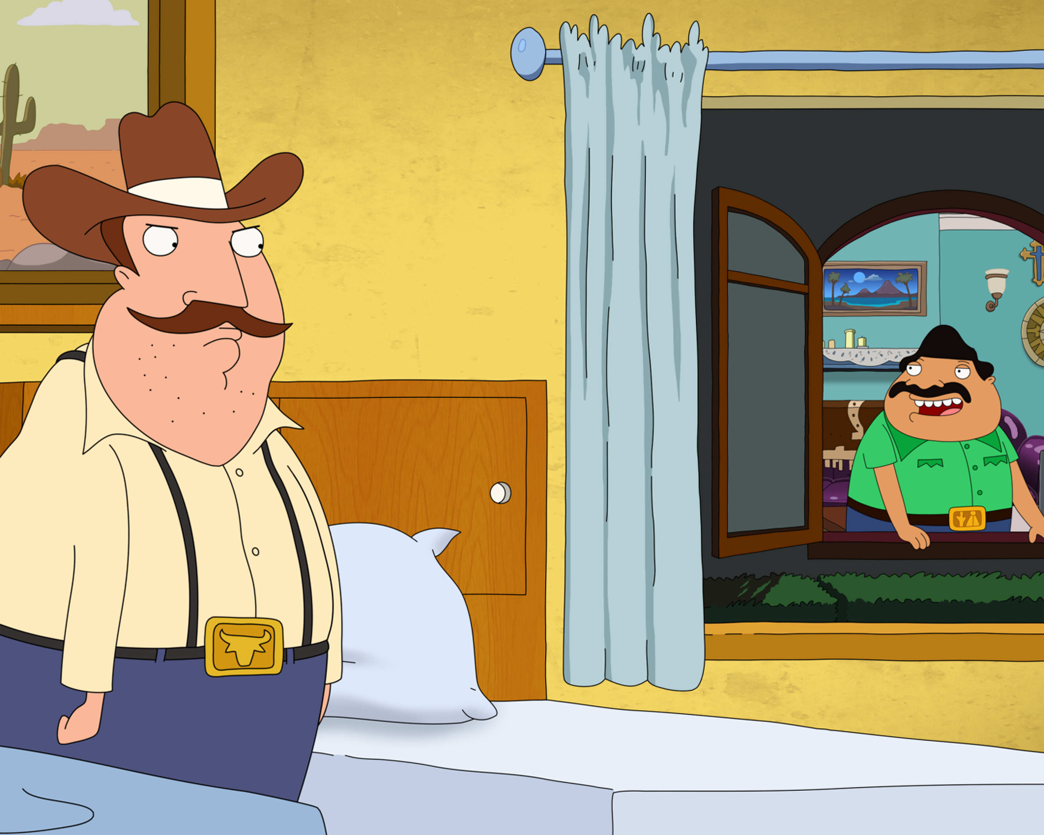 BORDERTOWN: A scene from BORDERTOWN on FOX. © and ª BORDERTOWN and TCFFC ALL RIGHTS RESERVED. CR: FOX