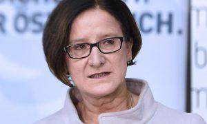Il ministro dell'Interno austriaco