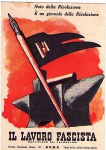 lavoro fascista