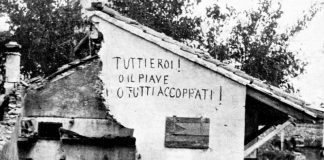 prima guerra mondiale murale