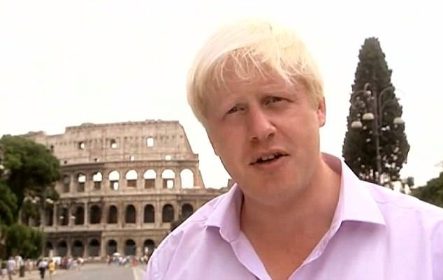 Boris Johnson Roma