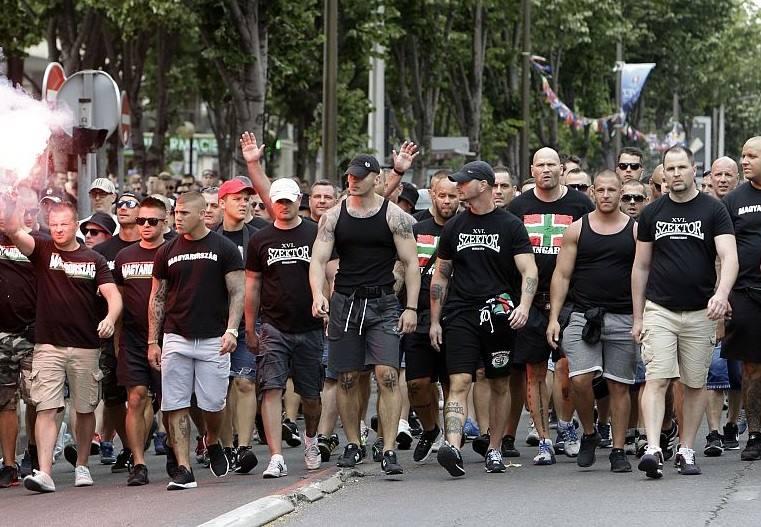 Ultras ungheresi Marsiglia