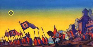 (1942) Nicholas Roerich - «Prince Igor's Campaign»