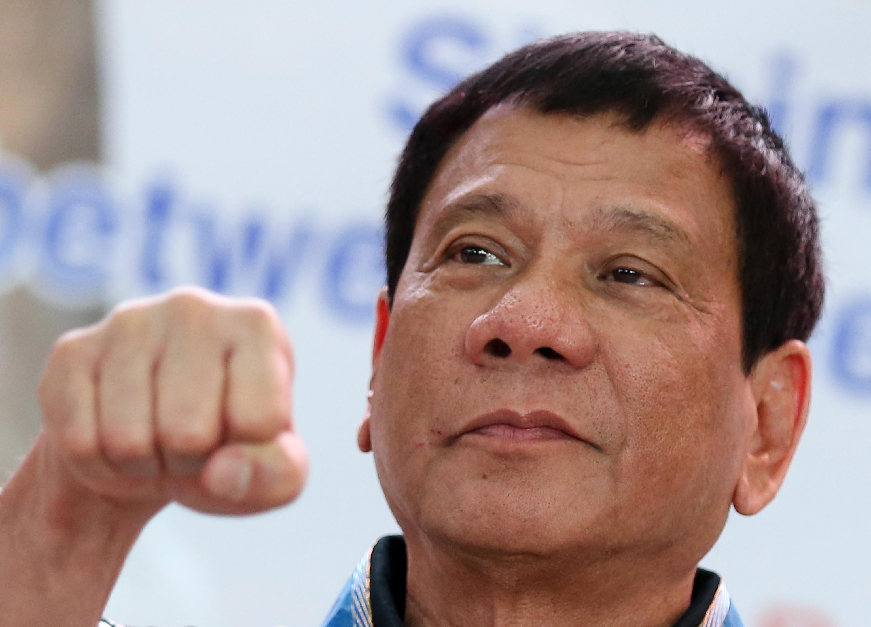 "Duterte The punisher"""
