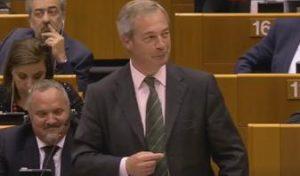 Farage parlamento Ue Brexit
