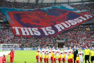 I tifosi russi a Euro 2012