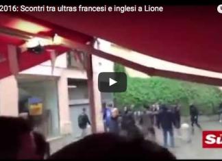 inglesi francesi scontri lione