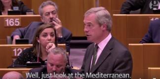 discorso di Farage