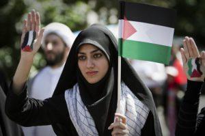 IRAN-ISRAEL-PALESTINIAN-DEMO