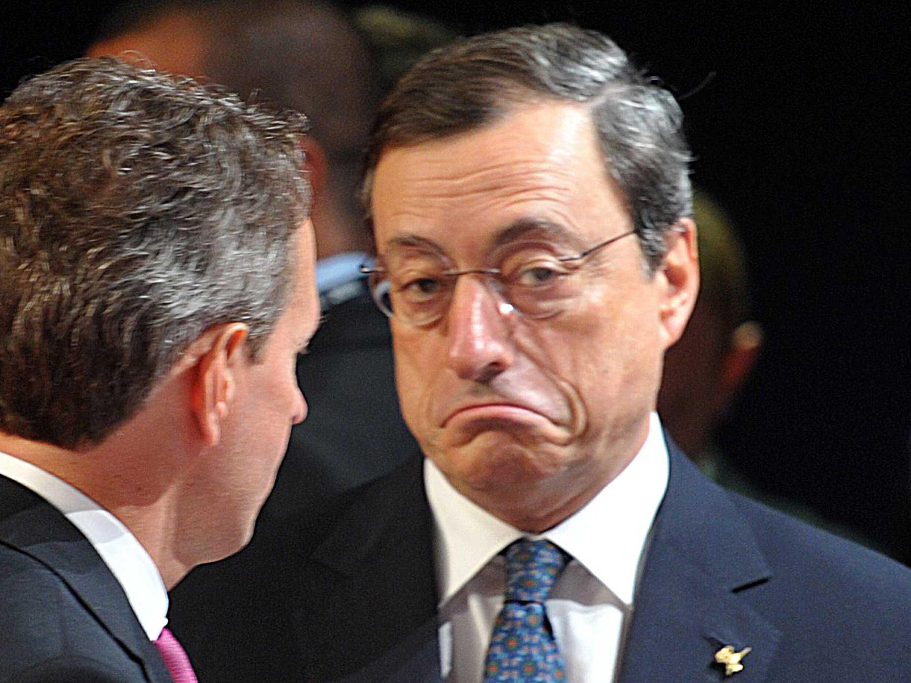 Draghi nemico dell'Italia