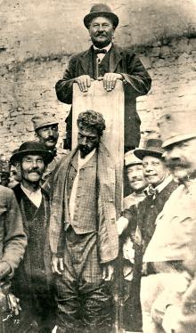 cesare battisti impiccagione