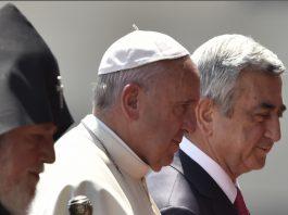 Papa francesco Armenia
