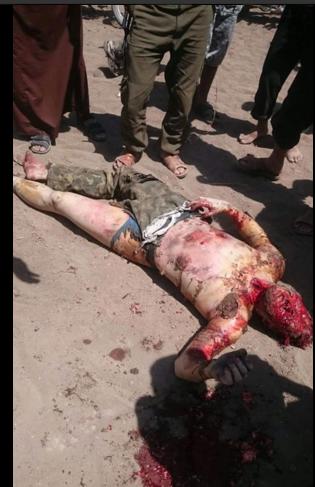 cadavere del soldato russo