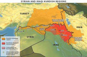 il presunto kurdistan