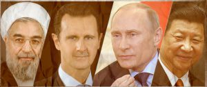 russia cina siria ed iran