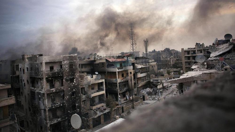 Nazioni Unite battaglia di Aleppo
