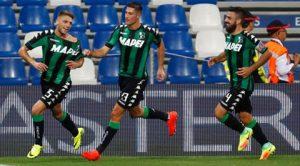 sassuolo italiani europa league