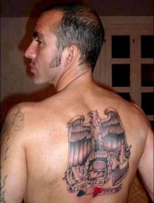 Di Canio tatuaggi fascisti