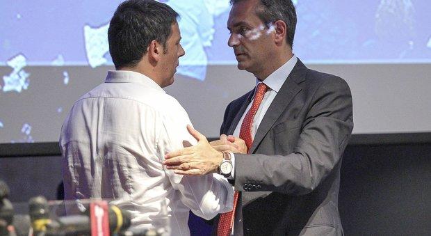 Renzi contestato a Napoli