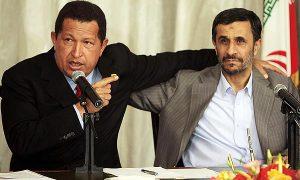 ahmadinejad e chavez