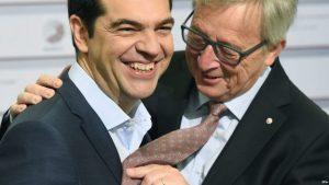 Alexis Tsipras-troika- migranti