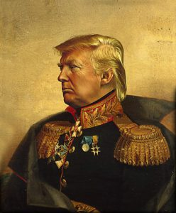 donald-trump-general-marshal-comic-wedding-decoration-military-uniform-oil-font-b-painting-b-font-font