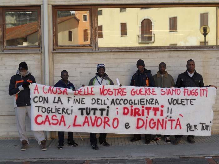 Vicenza rifugiati dettano le condizioni casa in - Prima casa condizioni ...