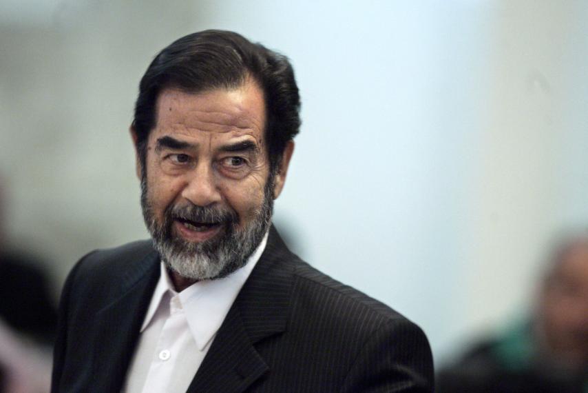 Saddam agente cia
