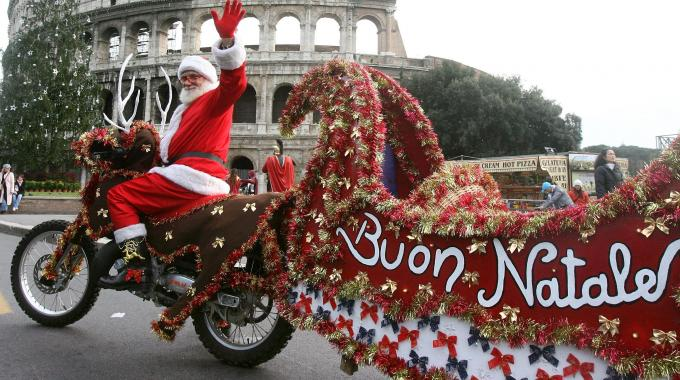 Natale flop Roma