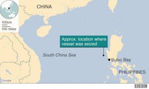 Il punto dove è avvenuto l'incidente (Foto BBC)
