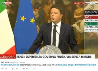 Renzi referendum governo