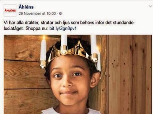 Santa Lucia Svezia immigrazione
