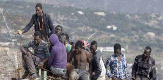 immigrati assalto Ceuta