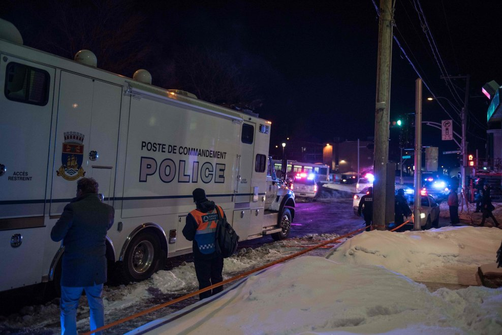 terrorismo Quebec moschea