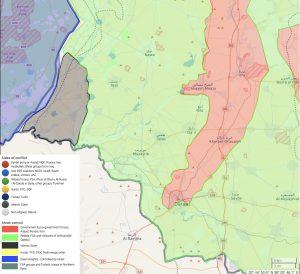 Il fronte di Daraa