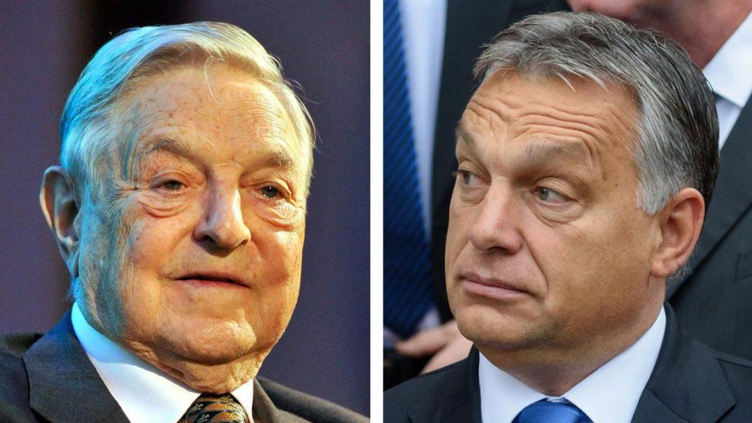 Orban contro Soros Ceu