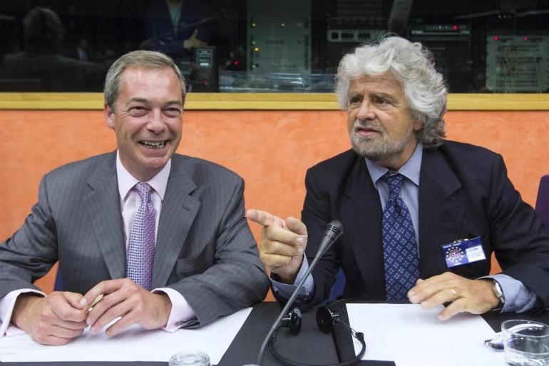 Grillo Farage Europa