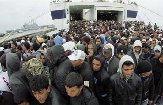 Migranti, Frontex nel 2016 record di arrivi in Europa