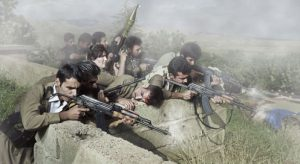 guerriglieri curdi in iran